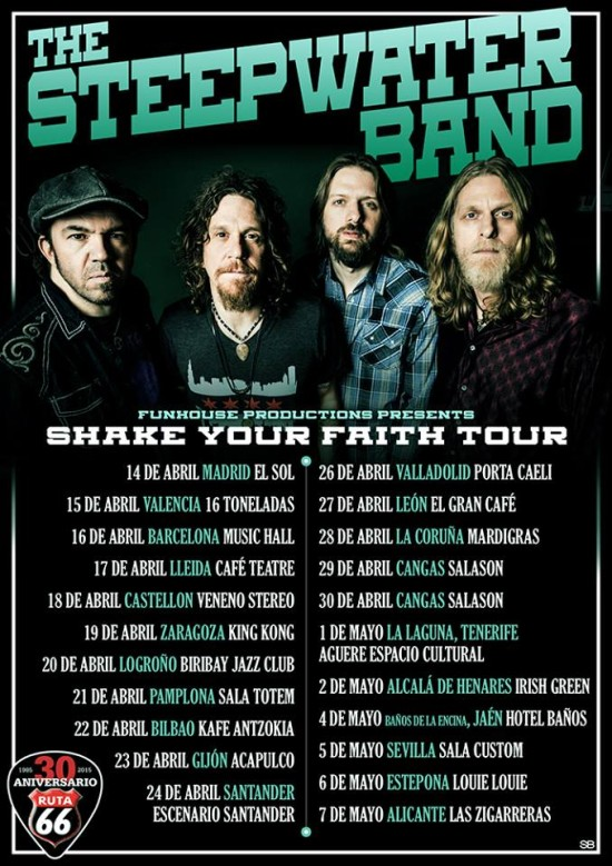 steepwater band gira