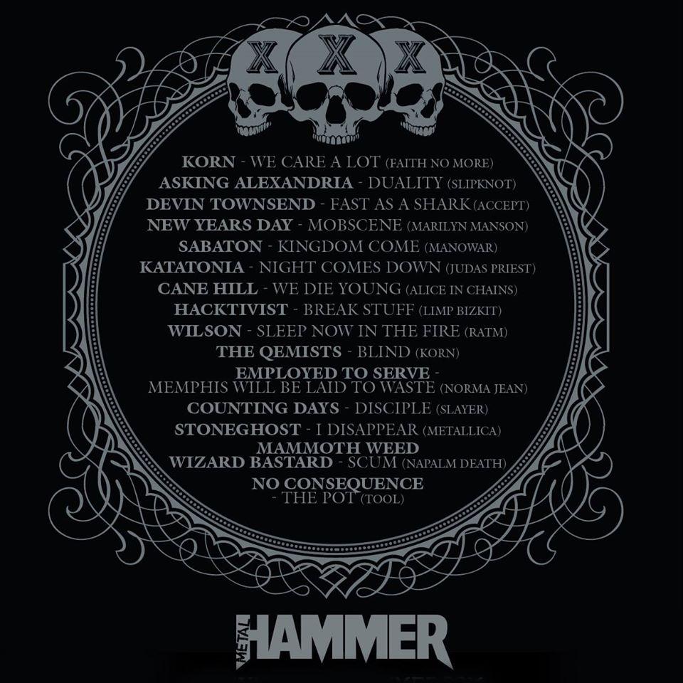 Mammoth Weed Wizard Bastard Wolf S Kompaktkiste: Korn, Devin Townsend, Sabaton O Katatonia Entre Otros