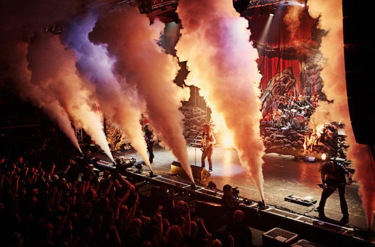 Horarios de la gira de Kreator, Sepultura, Soilwork y Aborted.